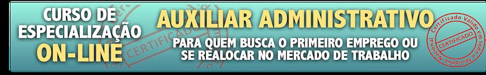 VENDA DE CURSO AUX ADM